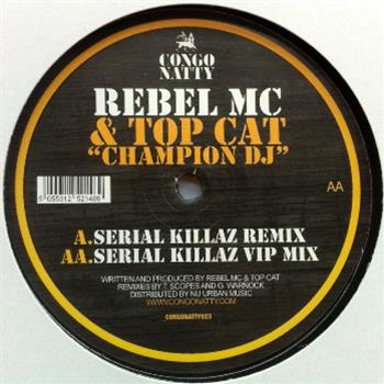 Rebel MC and Top Cat - Congo Natty