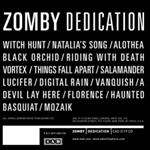 Zomby - Dedication LP- 23964