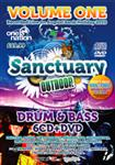 Santuary Outdoor Festival Drum & Bass Cd Pack vol 1- 50651